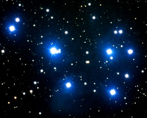 The Pleiadean Star Cluster
